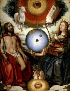 Le christianisme et ses origines... Allegory-of-Christianity-Jan-Provost-II-302502-231x300